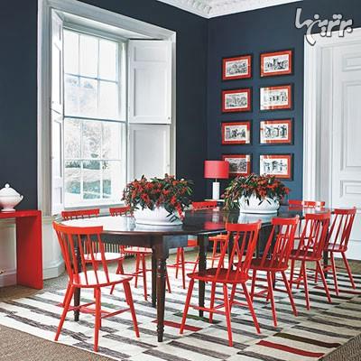 رنگ کرم و آجری, رنگ قرمز و سرمه ای, رنگ خاکستری و نارنجی, رنگ خاکستری و لیمویی, رنگ خاکستری و صورتی, رنگ آبی و خردلی | paint-tips | دکوراسیون داخلی شهرنگ