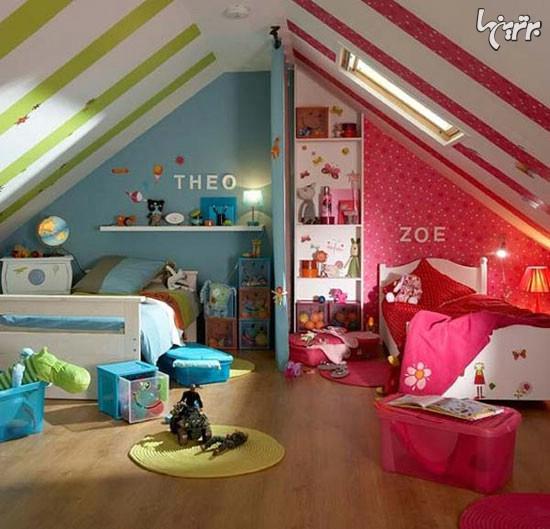 دکوراسیون اتاق دختر, دکوراسیون اتاق پسر | decoration2 | دکوراسیون داخلی شهرنگ