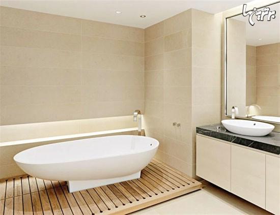 کاشی کاری, طراحی مینیمالیستی دستشویی, طراحی مینیمالیستی حمام, طراحی مینیمالیستی, سرویس بهداشتی, پرده حمام, آینه دستشویی, آینه حمام   decoration2   دکوراسیون داخلی شهرنگ