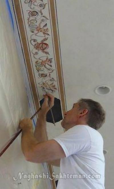 کاتالوگ پتینه کاری پتینه کاری سقف پتینه کاری ساختمان پتینه کاری پتینه  | Shahrang Painting